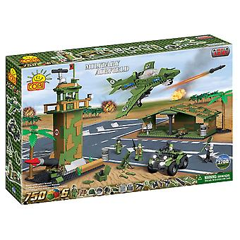 Small Army 750 Piece Military Airfield Construction Set