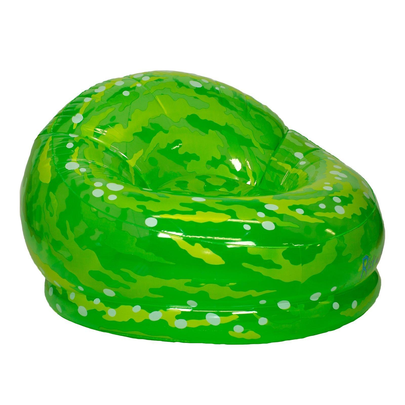 Rick & morty - illuminating portal inflatable chair