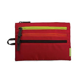 Crumpler Zippie Flight Travel organizer deep red / yellow