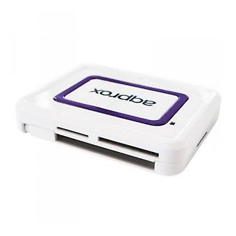 External Card Reader approx! APPCRDNIW USB 2.0 CNI (Identity Card) White