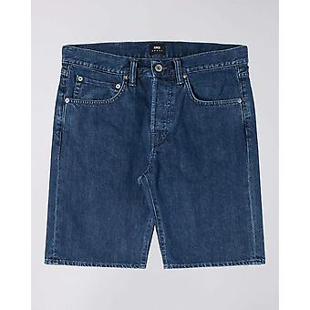 Edwin ed-55 short blue topias wash