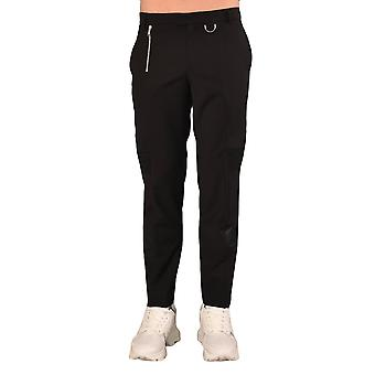 Les Hommes Lip120307g9000 Men's Black Nylon Pants