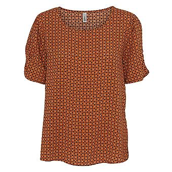 SOYACONCEPT Soyaconcept Dark Orange Blouse 16460