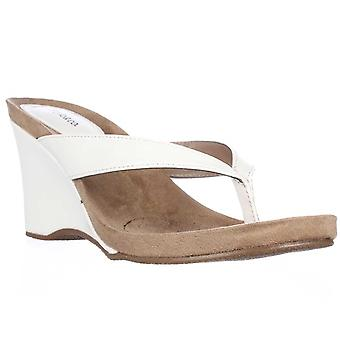 Estilo & Co. Womens Chicklet Open Toe plataforma Casual sandalias