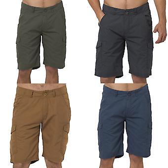 Tier Herren Alantas Casual Walking Wandern Outdoor Cargo Shorts Böden