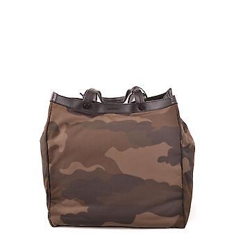 Moschino Ezbc015123 Women's Camouflage Fabric Tote