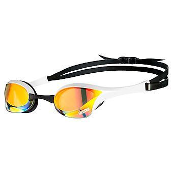 Arena Cobra Swipe Ultra Mirror ochelari de înot Avansate Anti Fog Lense - Alb