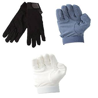 Hy5 Adults Cotton Pimple Palm Riding Gloves