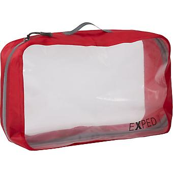Exped Clear Cube - X-Large - Czerwony