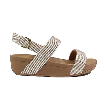 Fitflop Lottie Glitter Stone Womens Slingback Sandals