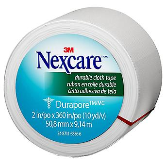Nexcare durable cloth tape, 2 inch x 10 yards, 6 ea