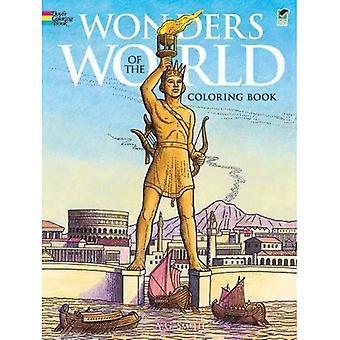 Underverk i världen Målarboken (Dover historia målarbok)