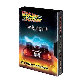 Back to the Future VHS Style A5 Premium Notebook