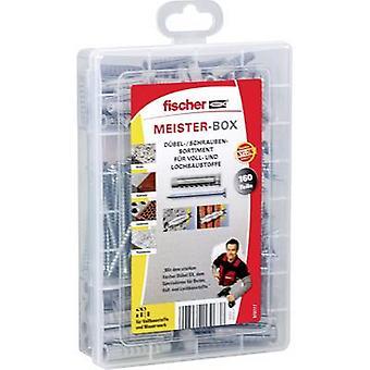 Fischer 513777 MASTER BOX SX+-ruuveilla Pistoke Sisältö 160 Osaa