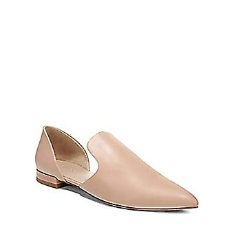 Vince Damris Calf Leather D'Orsay Flats Nude Size 9.5M
