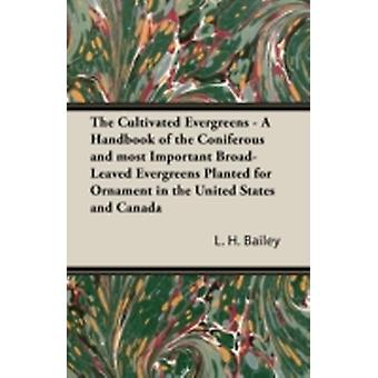 The Cultivated Evergreens  A Handbook of the Coniferous and most Important BroadLeaved Evergreens Planted for Ornament in the United States and Canada by Bailey & L. H.