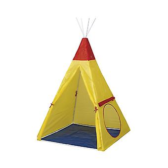 Paradiso Toys Children's Play Tent Indian Tipi 02833 Foldable Window Inside Inside