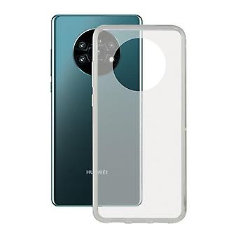 Mobiele cover Huawei Mate 30 Pro KSIX Flex Transparant