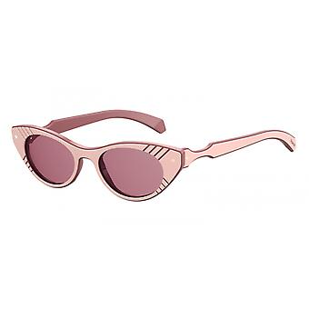 Sunglasses 6084/S2NX/0F Women's Pink with Pink Glasses