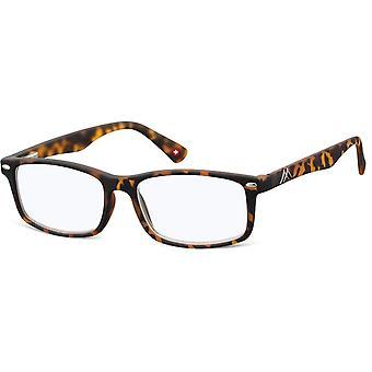 Ochelari de lectură albastru filtru de lumină maro grosime +3.50 (blfbox83a)