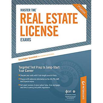 Peterson's Master the Real Estate License Exams (7th) by Peterson's -