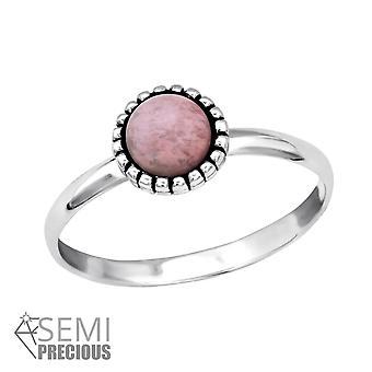 Round - 925 Sterling Silver Jewelled Rings - W30315x