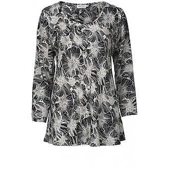 Masai Clothing Kay Flower Patterned Top