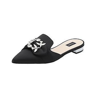 Pinko Vanitosa Sabot Damen Sandalen Schwarz Flip-Flops Sommer Schuhe