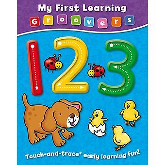 Mijn eerste leer Groovers 123 door Sophie Giles & geïllustreerd door Heather Kirk & geïllustreerd door duck egg Blue