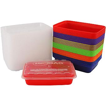 Isolator Fitness 16 oz. Meal Prep Containers - Multicolor