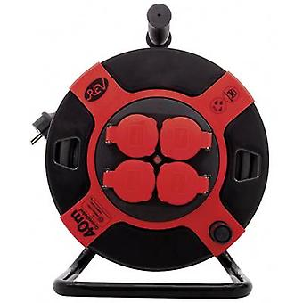 REV 0010307612 Cable reel 40.00 m Black PG plug