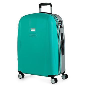JASLEN Bucarest Trolley M, 4 wielen, 43 cm, 66,5 L, turquoise