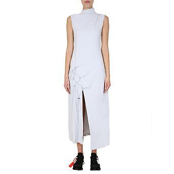 Off-white Owdb240s20fab0010800 Femmes's Grey Viscose Dress