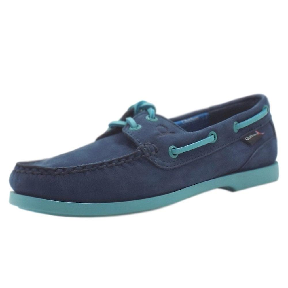 Chatham Marine Pippa Ii G2 Women's Lace Up Boat Shoes In Navy Leather kDJfc