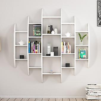 Alvino White Color Library i melaminiskt chip 146x29x147 cm