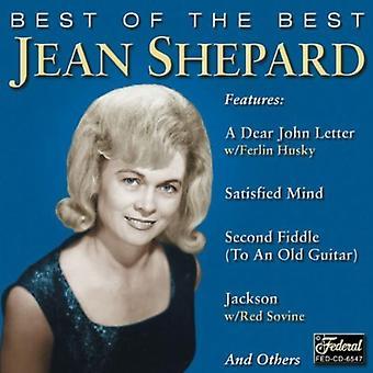 Jean Shepard - Best of the Best [CD] USA import