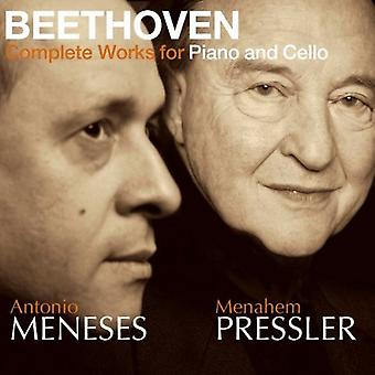 L.V. Beethoven - Beethoven: Complete Works for Piano & Cello [CD] USA import