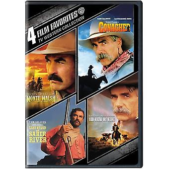 4 film Favorites: importation de l'ouest des USA TV Collection [DVD]