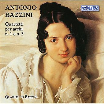 Bazzini - String Quartets 1 [CD] USA import