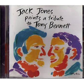 Jack Jones - Paints a Tribute to Tony Bennett [CD] USA import