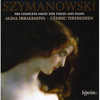 K. Szymanowski - Szymanowski: The Complete Music for Violin & Piano [CD] USA import