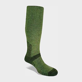 Bridgedale Men's Explorer Heavyweight Merino Endurance Boot Sock Olive