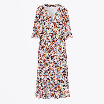 Stine Goya - Robe en soie florale Evelyn - Multi