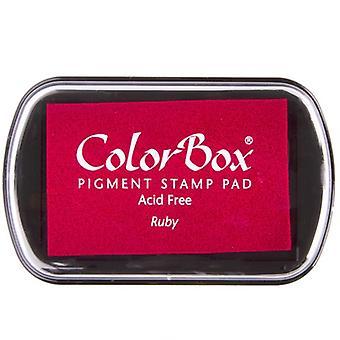 Clearsnap ColorBox Pigment Muste Täysikokoinen Ruby