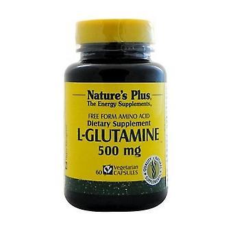 L-Glutamine 60 capsules of 500mg