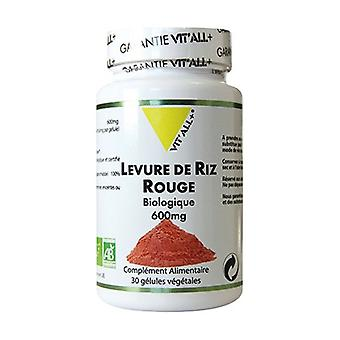 Red Rice Yeast 600mg Standardized Extract 30 vegetable capsules
