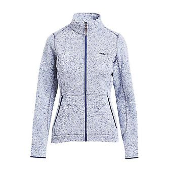 Brasher Women's Rydal Hiking Casual Full Zip Fleece Blue