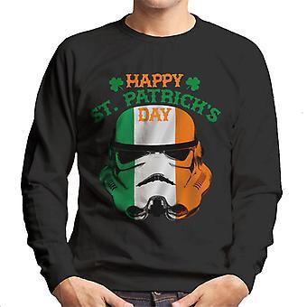 Oryginalna szturmowców Happy St Patricks Day męska Bluza