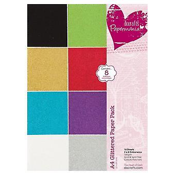 ورق الورق A4 حزمة ورقة لامعة (16pk) (PMA 173201)