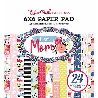 Echo Park I Am Mom 6x6 Inch Paper Pad